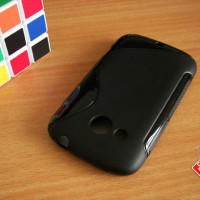 Softcase Silikon SoftGel Jelly TPU Soft Case Cover Casing HTC Desire C