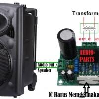 MDL-066 TDA7293 Mono 1 x 100W (maks) high Power Amplifier Modul