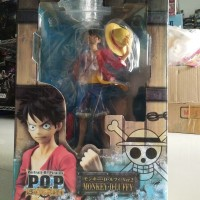 POP Figure Sailing Again - Monkey D Luffy by MegaHouse NEW KWS