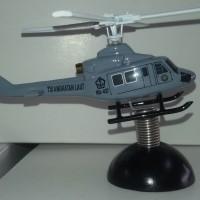 miniatur helikopter Bell 412 TNI AL 10 cm