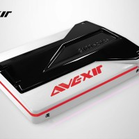 Avexir SSD S100 Series 120GB RED LED - AVSSDS100Z3-120GB