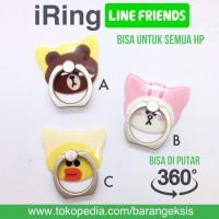 Jual iRing LINE / Ring Holder Handphone / Cincin Hp / Stand iRing HP -IRLCF Murah