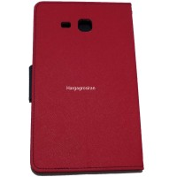 Sarung Mercury Samsung Tab A 7 Inch/T280-Fancy Diary Tablet - Pink Tua