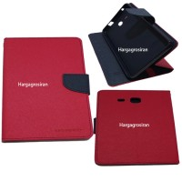 Sarung Mercury Samsung Tab A 7 Inch-T280-Fancy Diary Tablet - Pink Tua