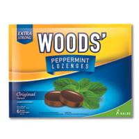 Woods Peppermint Lozenges Original [3 bungkus]