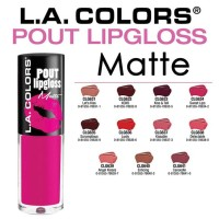 LA Color Pout Lipgloss Matte