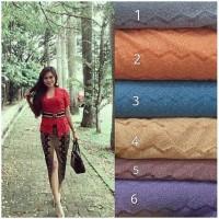 Setelan Kebaya Solo Renda + Skirt