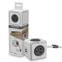Allocacoc Power Cube Electric Socket 2500W 4 China Plug Berkualitas