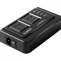 Orico Wall Charger with 2 AC Outlet and 4 USB Charger P Limited