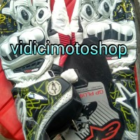 glove alpinestar / sarung tangan alpinestar GP pro K-tech  white