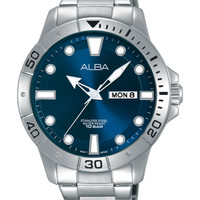 ALBA AT2041 Active Royal Blue Day Date ORIGINAL - New Arrival