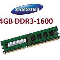 Ram Pc - Samsung Ddr3 4gb Pc12800