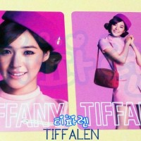 SNSD Tiffany 2nd Japan Tour Girls & Peace TRADING CARD