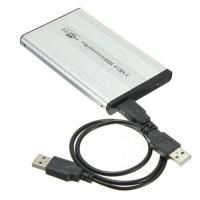 Casing Harddisk Eksternal for Hardisk Internal lepi SATA + USB Cable