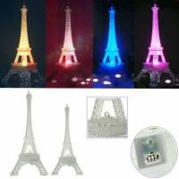 Jual Lampu Tidur Hias Miniatur Pajangan Replika Menara Eiffel Eifel Paris Murah