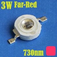 led high power luxeon 3watt 730nm GROW FAR-RED IR Emitter epistar