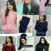 Roundhand Sweater Rajut