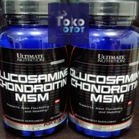 Glucosamine Chondroitin & MSM 90tabs ULTIMATE NUTRITION