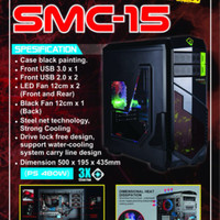 Casing Simbadda Sim Cool SMC-15 + PSU 480Watts