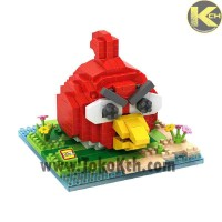 Jual LOZ GIFT LARGE 9512 ANGRY BIRD RED Murah