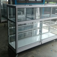 Etalase Aluminium Beras