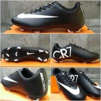 harga Sepatu bola / soccer Nike mercurial CR7 black Tokopedia.com