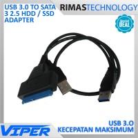 harga USB 3.0 to SATA 3 2.5 HDD SSD Adapter Kabel Adaptor Hard Disk Internal Tokopedia.com