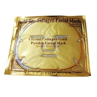 Harga collagen crystal facial mask masker topeng gold | Pembandingharga.com