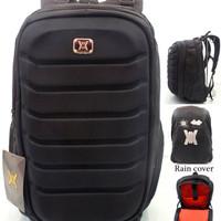 Jual RECOMMENDED!! Tas Ransel Pria / Laptop Case / Rain Cover 7672 Murah