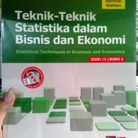 Teknik-Teknik Statistika dalam Bisnis dan Ekonomi/Lind Marchal Wathen