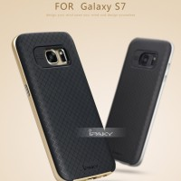 SAMSUNG GALAXY S7 / S 7 COVER CASING IPAKY ORI BUMPER HYBRID SOFT CASE