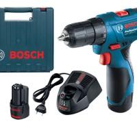 BOSCH GSR1080-2-LI GSR 1080 Mesin Alat Bor Cordless Baterai Kayu Obe
