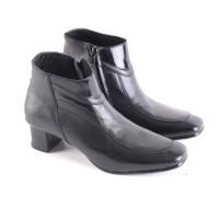Sepatu Boots Wanita Formal / Sepatu Pantofel Hitam Kerja & Upacara Gs
