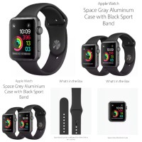 Apple Watch 3 2018 42mm Series 3 Brand New Jakarta COD Reseller masuk