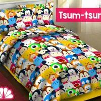 harga Sprei Katun Fortuna Tsum-tsum ukuran 100x200 Tokopedia.com