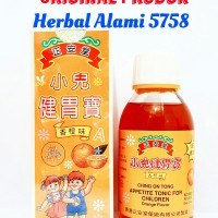 Ching On Tong Appetite Tonic For Children - Vitamin Nafsu Makan Anak