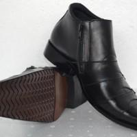 Sepatu Kulit Asli Boot Formal SBF01, Sepatu Kerja Kulit Asli