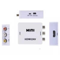 Mini Box HDMI to AV RCA Converter Adapter