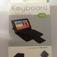 Leather Case Bluetooth Keyboard Samsung Galaxy Tab 2 7inch LarisJaya