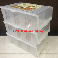 Jual Kotak Sepatu / Shoe Box Transparan (Owl Plast) Murah