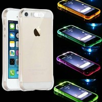 LED Light Case Anti Crack for Iphone 5 / 5s / SE / 6 / 6s / 6+ / 6s+