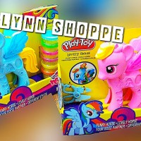my Lovely little pony Play-Toy dengan 5 doh dan gunting