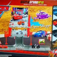 Disney Cars 2 world grand prix : 4 cars