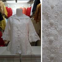 harga KEBAYA BROKAT | Baju Atasan Wanita Brukat Import | Putih | RBA65994 Tokopedia.com