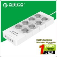 ORICO HPC-8A5U-EU Surge Protector Strip 8-Outlet With 5 USB SuperCha