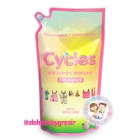Cycles Laundry Liquid Refill Pouch 800ml