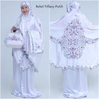 Mukena Behel Tiffany Putih