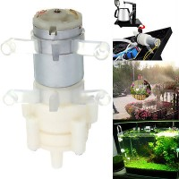 Pompa Air Water Pump 12V DC Akuarium Water Cooling Block Watercooling