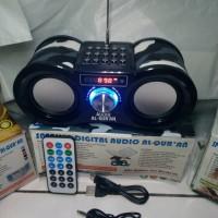 Audio Al Quran Speaker Fleco F 1308 Sonia Cm 377