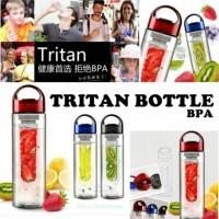 Tritan Bottle BPA Free Infused Water / Botol Air Minum Jus Sari Buah